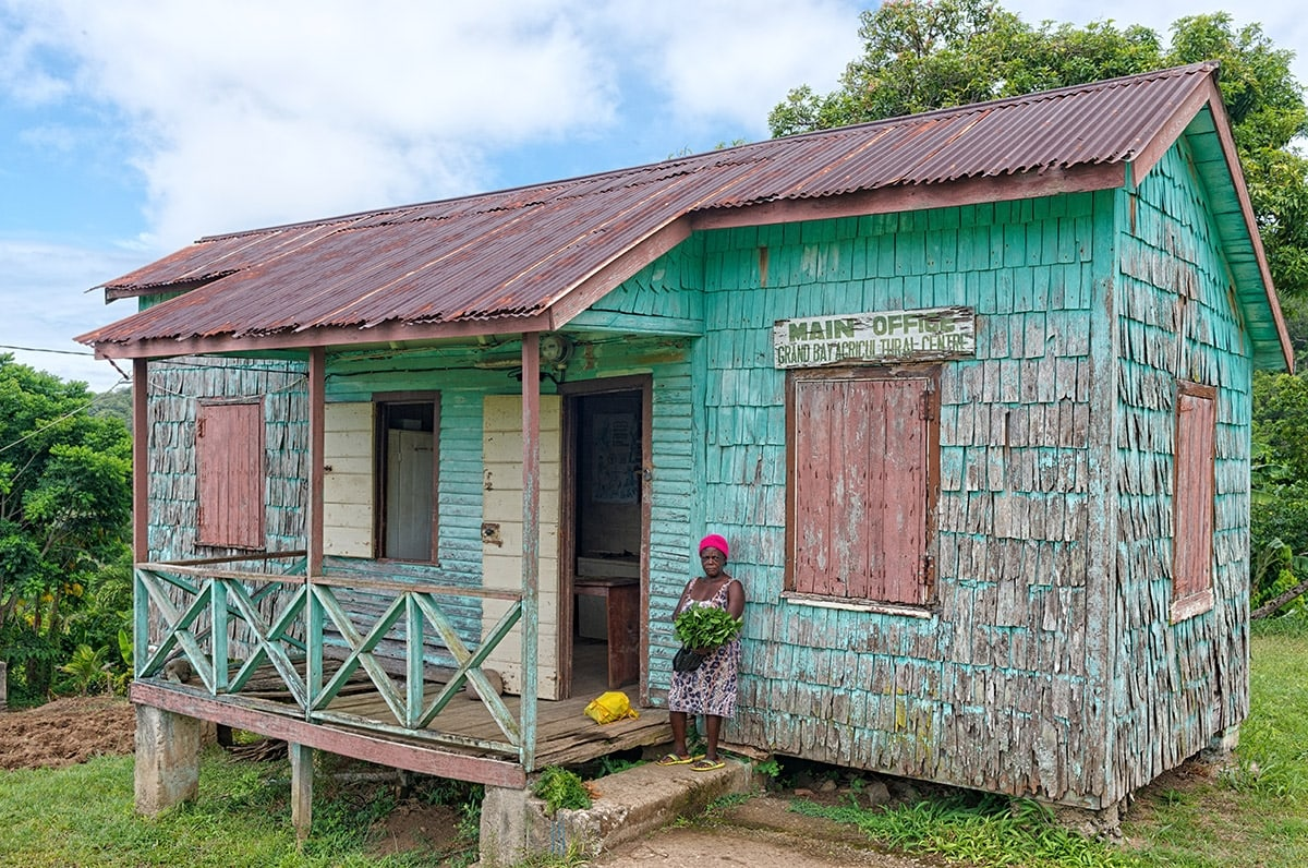 Old chattel house, Dominica
