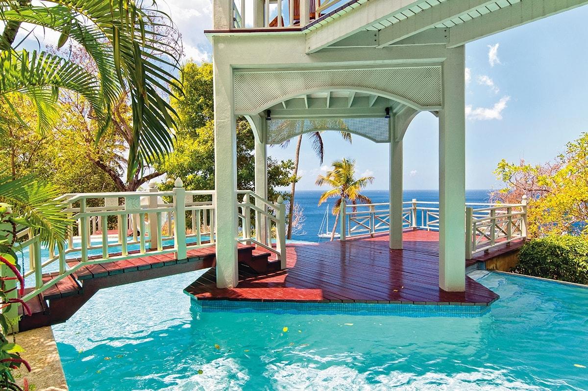 Arc en Ciel villa, St Lucia