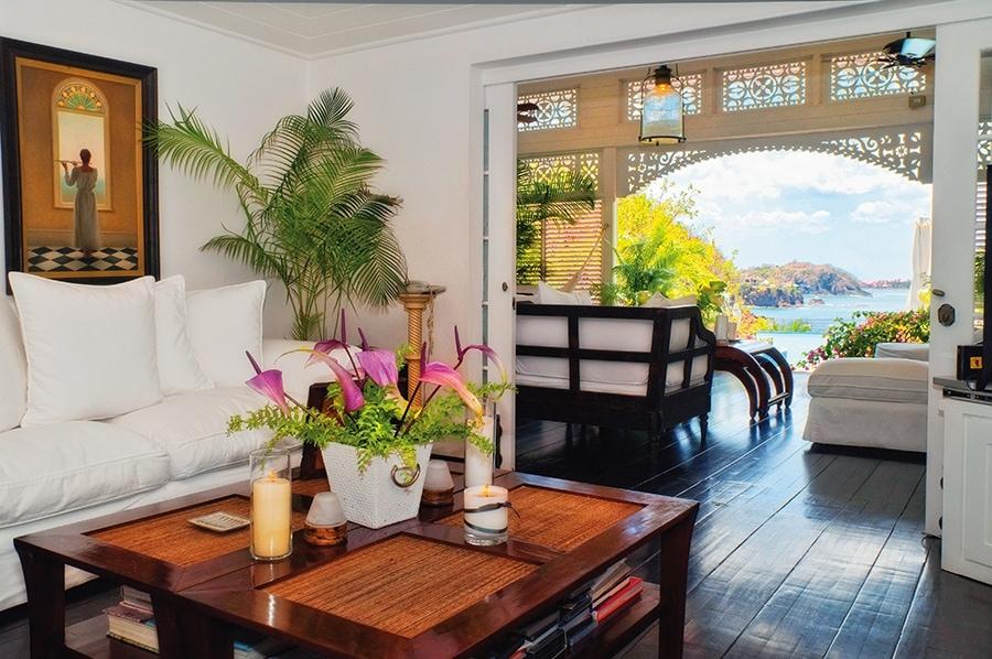 Hibiscus villa, St Lucia