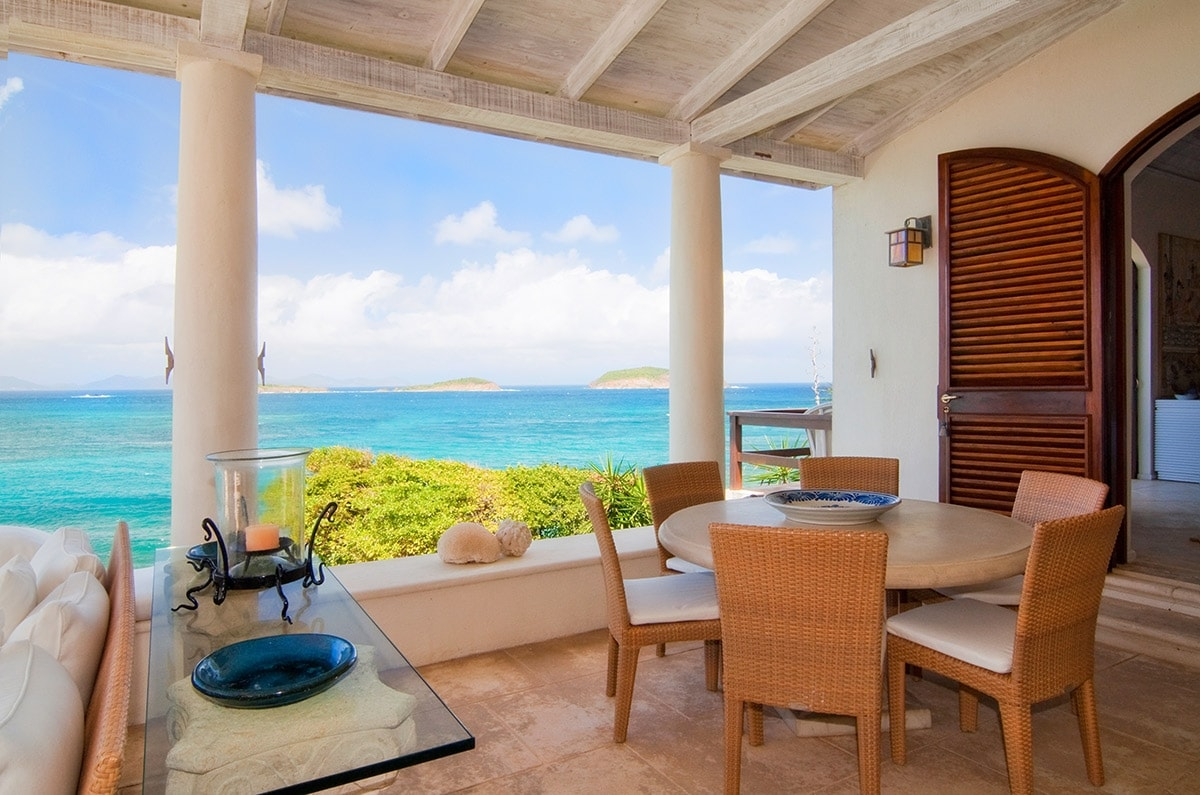 Private villa, Mustique island