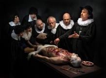 AnatomyLesson-homageToRembrandt