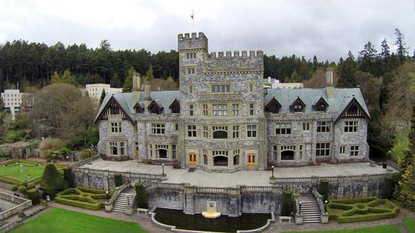 Hatley Castle, Victoria, Canada.